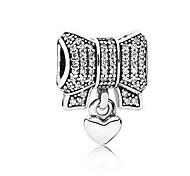 economico -Gioielli fai-da-te 1 pezzi Perline Diamanti d'imitazione Lega Argento A fiocchetto perlina 0.5 cm Fai da te Collana Bracciali
