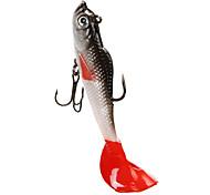 abordables -4 pcs leurres souples Jerkbaits Shad Affaissé Affaissement rapide Bass Truite Brochet Pêche en mer Pêche d'appât Pêche aux spinnerbaits
