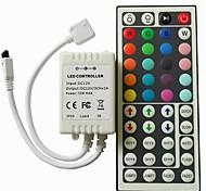 abordables -1 pc Accessoire de feuillard 44 touches Plastique Contrôleur RGB