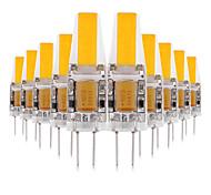abordables -ywxlight® 10pcs g4 3w torch 200-300lm led bi-broches lumières blanc chaud blanc froid blanc naturel led ampoule de maïs lustre lampe 12v 12-24v