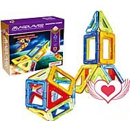 abordables -Blocs Magnétiques Carreaux magnétiques Blocs de Construction Briques de construction 20 pcs Transformable Classique Jouets de construction Garçon Fille Jouet Cadeau / Enfant / Enfants