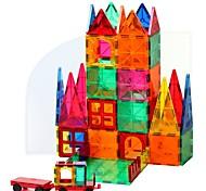 abordables -Blocs Magnétiques Carreaux magnétiques Blocs de Construction Briques de construction 60 pcs Architecture Transformable Style vintage Jouets de construction Garçon Fille Jouet Cadeau / Enfant