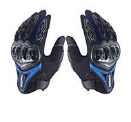 abordables -Doigt complet Unisexe Gants de moto Nylon Antidérapant