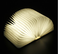abordables -Livre Lampe de chevet de table Rechargeable Pliable Transport Facile Batterie Li intégrée 1 pc