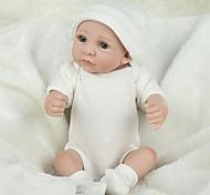 abordables -NPKCOLLECTION 12 pouce NPK DOLL Poupée Reborn Bébé réaliste Mignon Fabrication à la main Silicone complet du corps 28cm cadeaux noël enfant avec vêtements et accessoires pour les cadeaux / Enfant