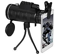 economico -PANDA 10 X 40 mm Monocolo Lenti Visione notturna a bassa luminosità Obiettivo con supporto Facile da trasportare BaK4 Campeggio e hiking Caccia Pesca Materiale composito / Sì / Da caccia