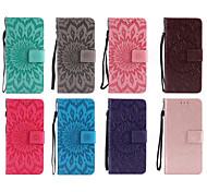 economico -telefono Custodia Per LG Integrale Custodia in pelle Porta carte di credito LG X Power LG V30 LG V20 LG V10 LG Q8 LG Q6 LG K10 (2017) LG K8 (2017) LG K3 (2017) LG G6 A portafoglio Porta-carte di