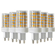 abordables -ywxlight® 6pcs 10w 900-1000lm g9 led bi-broches lumières 86led 2835smd en céramique de haute qualité dimmable led ampoule ac 220-240v