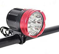 abordables -LED Eclairage de Velo Eclairage de Vélo Avant Phare Avant de Moto LED VTT Vélo tout terrain Vélo Cyclisme Imperméable Modes multiples Super brillant Portable 18000 lm DC48V Blanc Naturel Camping