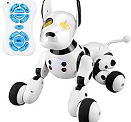 abordables -2.4G Wireless Remote Control Smart Dog Animaux Electroniques Chien Robot Chiens Animal En chantant Danse Marche Plastique ABS de grade A Garçon Fille Jouet Cadeau / 14 ans et + / intelligente
