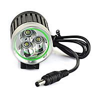 abordables -LED Eclairage de Velo Eclairage de Vélo Avant Phare Avant de Moto LED VTT Vélo tout terrain Vélo Cyclisme Imperméable Modes multiples Super brillant Portable Batterie rechargeable 6000 lm Blanc