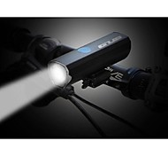 abordables -LED Eclairage de Velo Lampes Torches LED Eclairage de Vélo Avant Phare Avant de Moto LED Vélo Cyclisme Imperméable Modes multiples Super brillant Portable Batterie au lithium 300 lm Batterie Li / USB