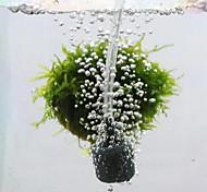 economico -2 pezzi bolla di pietra a forma di palla acquari pietra d'aria diffusore di bolle di pietre aeree per acquario pompa serbatoio di pesce ossigeno idroponico