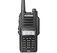 abordables -baofeng uv-9r poche ip7 étanche double bande talkie-walkie deux voies interphone radio large gamme compatible fréquence portable double bande