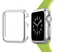 economico -Per Apple  iWatch Apple Watch Serie SE / 6/5/4/3/2/1 Metallo Proteggi Schermo Custodia per Smartwatch  Compatibilità 38 millimetri 42 millimetri