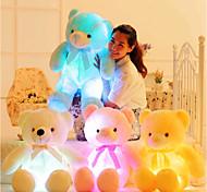 abordables -Eclairage LED Animal en peluche Peluches Poupées en peluche Animaux en Peluche Romance Créatif Ours en peluche Adorable Pluche Jeu imaginatif, bas, grands cadeaux d'anniversaire fournitures de faveur