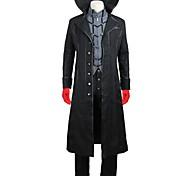 economico -Ispirato da Persona 5 Joker Ren Amamiya / Akira Kurusu Anime Costumi Cosplay Giapponese Abiti Cosplay Altro Manica lunga Cappotto Camicia Pantaloni Per Per uomo Per donna / Guanti / Guanti