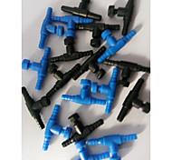 abordables -Aquarium Tuyaux Tubes & Tunnels Noir Portable Mini Lavable Plastique 10pcs 3.8*1.6 cm 3.8*1.6 cm