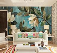 abordables -Papier peint mural fleur plante floral art déco décoration de la maison revêtement mural approprié chambre restaurant