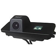 economico -ZIQIAO CCD Con filo 170 Gradi Telecamera posteriore Impermeabile per Auto