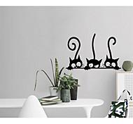 economico -adesivi murali dei cartoni animati soggiorno, decalcomania murale rimovibile in pvc per la decorazione della casa 20 * 30 cm