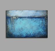 abordables -Peinture à l'huile Hang-peint Peint à la main Panoramique vertical Abstrait Nature morte Contemporain Rétro Vintage Inclure cadre intérieur