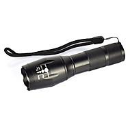 abordables -Lampes Torches LED 2000 lm LED LED Émetteurs 1 Mode d'Eclairage Camping / Randonnée / Spéléologie Usage quotidien Cyclisme Noir