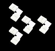 economico -z®zdm 4 pezzi Connettore a saldare a 4 pin per luci di striscia a led 10mm 5050 rgb