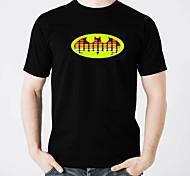 voordelige -LED T-shirts Valaistus / Modieus Design / Elektro Verlicht Puhdasta puuvillaa Feest / Informeel 2 AAA Batterijen