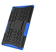 economico -telefono Custodia Per Lenovo Per retro Lenovo Tab 4 10 Resistente agli urti Con supporto Armatura Mattonella Armatura Resistente PC