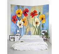 abordables -tapisserie murale art décor couverture rideau pique-nique nappe suspendu maison chambre salon dortoir décoration nature morte plante fleur floral