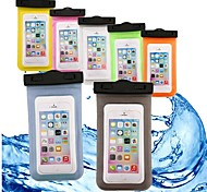 economico -Custodia Per Apple iPhone X / iPhone 8 Plus / iPhone 8 Impermeabile / A portafoglio / Resistente all'acqua Borsetta marsupio Tinta unita Morbido ABS + PC