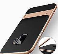 economico -telefono Custodia Per Samsung Galaxy Per retro S9 S9 Plus S8 Plus S8 S7 Resistente agli urti Con supporto Armatura Resistente PC