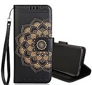 economico -telefono Custodia Per Samsung Galaxy Integrale S9 S9 Plus S8 Plus S8 Bordo S7 S7 Bordo S6 S6 A portafoglio Porta-carte di credito Con chiusura magnetica Fiore decorativo Resistente pelle sintetica