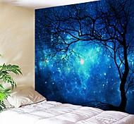 abordables -tapisserie murale art décor couverture rideau pique-nique nappe suspendu maison chambre salon dortoir décoration halloween psychédélique ciel étoilé galaxie nuit forêt