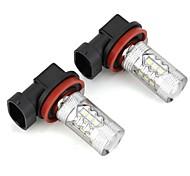 economico -Auto LED Accessori H8 Lampadine 120 lm 5.5 W Per Universali Tutti i modelli Tutti gli anni