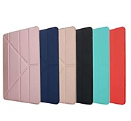 economico -telefono Custodia Per Apple iPad Air iPad 4/3/2 iPad Mini 3/2/1 iPad Mini 4 iPad (2018) iPad Pro 11 pollici iPad Mini 5 iPad New Air (2019) iPad Air 2 iPad Pro 9.7 '' Origami Tinta unita Resistente