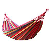 abordables -Hamac de Camping Extérieur Portable Poids Léger Respirable Durable Stable Toile pour 1 personne Randonnée Camping Voyage Fuchsia Bleu de minuit