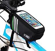 economico -Borsa per cellulare Borsa Top Tube 5.7 pollice Ciclismo per iPhone 8/7/6S/6 iPhone X Samsung Galaxy S8 + / Nota 8 Nero Blu Rosso Ciclismo / Bicicletta / iPhone XR / iPhone XS / iPhone XS Max