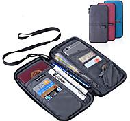 abordables -Etui à Passeport & Pièce d'Identité Polyester Portable / Accessoire de Bagage / Multifonction Couleur Pleine