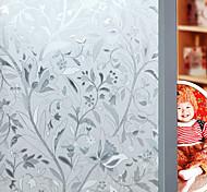 abordables -Fleur 45 cm 100 cm Mat Salon / Salle de bain / Boutique / Café PVC / Vinyl