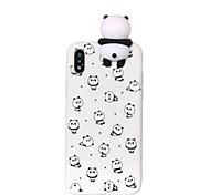 economico -telefono Custodia Per Apple Per retro iPhone 12 Pro Max 11 SE 2020 X XR XS Max 8 7 6 Fantasia / disegno Fai da te Cartoni animati Panda Morbido TPU