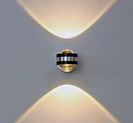 economico -Contemporaneo moderno Metallo Luce a muro 90-240V 2 W / LED integrato