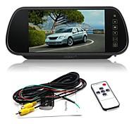 abordables -ziqiao 7 pouces couleur tft lcd voiture rétroviseur moniteur auto véhicule stationnement arrière moniteur pour caméra de recul