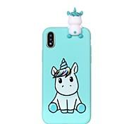 economico -telefono Custodia Per Apple Per retro iPhone 12 Pro Max 11 SE 2020 X XR XS Max 8 7 6 iPhone 11 Pro Max SE 2020 X XR XS Max 8 7 6 Fantasia / disegno Fai da te Cartoni animati Unicorno Morbido TPU
