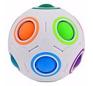 economico -Set Speed Cube 1 pcs Cubo magico Cube intuitivo Trottola a pallina colorata Puzzle a cubo Anti-stress Cubo a puzzle educativo Palla Per bambini Per adulto Giocattoli Regalo / 14 Anni e oltre