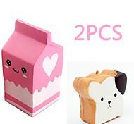 abordables -MINGYUAN Boîte à lait Transformable Jouets de bureau Adorable Adolescent Adulte Tous Jouet Cadeau 2 pcs