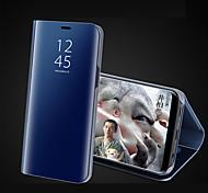 economico -telefono Custodia Per Apple Integrale iPhone 12 Pro Max 11 SE 2020 X XR XS Max 8 7 6 Con supporto Placcato A specchio Tinta unica Resistente Acrilico
