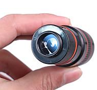 economico -8 X 18 mm Monocolo Tetto Portatile 250/1000 m Rivestimento multistrato BaK4 Escursionismo Campeggio Viaggi Involucro in plastica