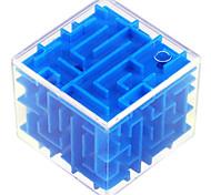 economico -Cubi Confezione puzzle labirinto 3D Labirinto magico Test d'intelligenza Rompicapo Plastica ABS Per bambini Per adulto Da ragazzo Da ragazza Giocattoli Regalo 1 pcs / 14 Anni e oltre